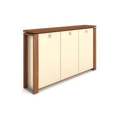 Cabinet, wardrobe + glass doors - E 3 3 01 S