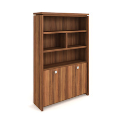 Cabinet, hinged doors + open shelves - A 5 2 03