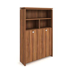 Cabinet, wardrobe + hinged doors + open shelves - A 5 2 04