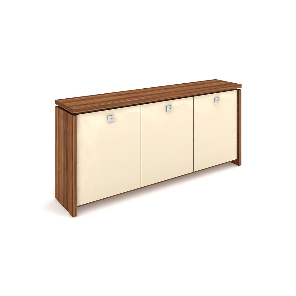Cabinet, glass doors - A 2 3 01