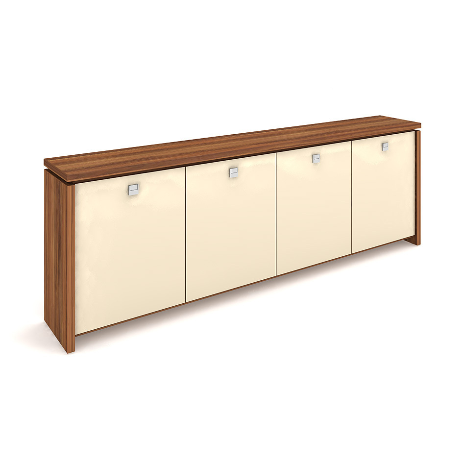 Cabinet, glass doors - A 2 4 01