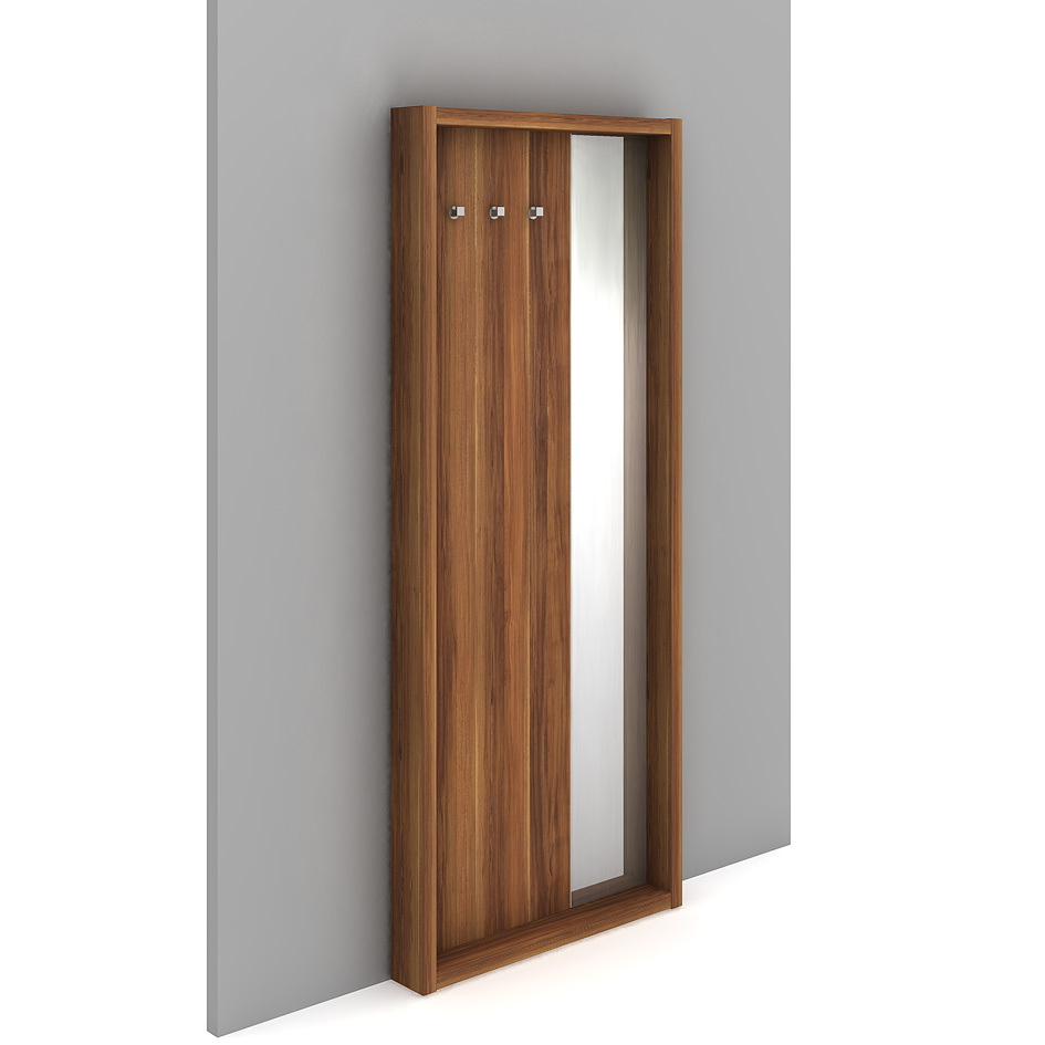 Wardrobe wall with mirror - EOZ 21