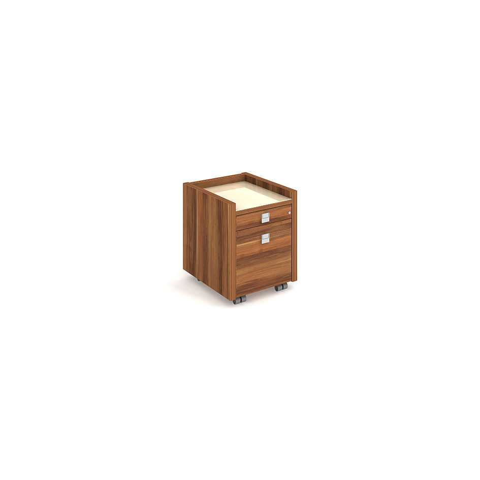Mobile pedestal - pen drawer, sliding register - EK 12 S